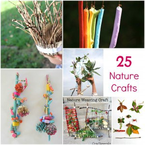 25 of the best outdoor nature art crafts for Outdoor crafts for camping