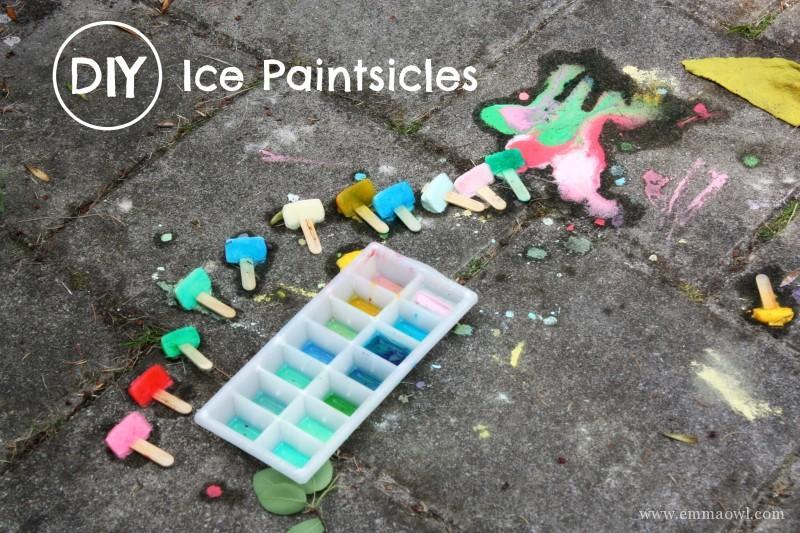 DIY Ice Paintsicles