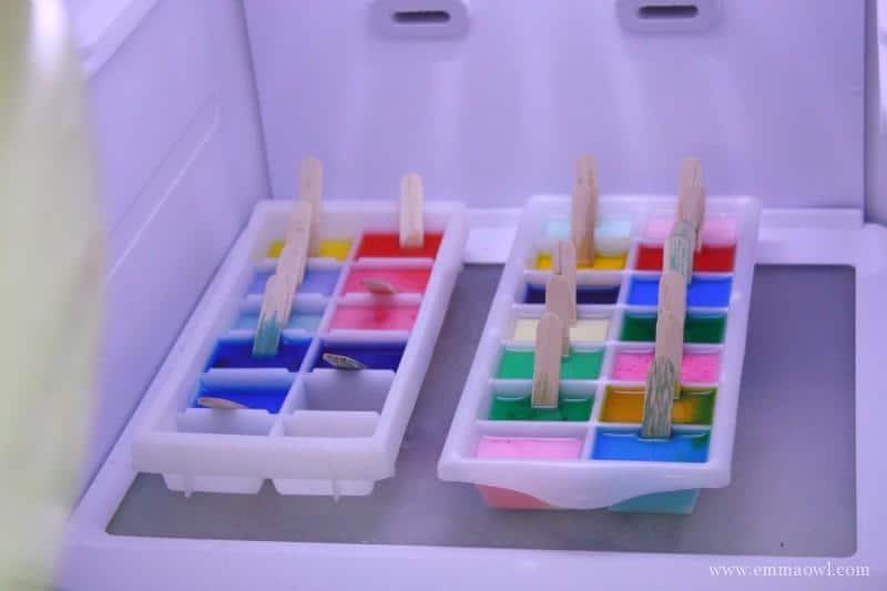 Homemade Ice Paint