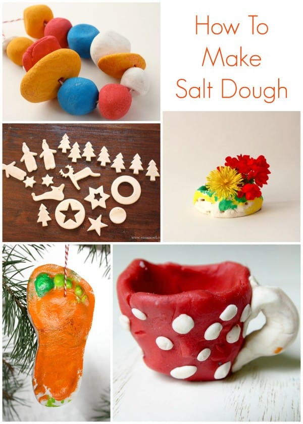 How to Make Salt Dough. This is an easy versatile craft material that can used for all kinds of things!