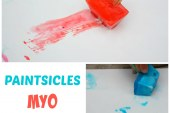 Ice Painting – Homemade Paintsicles