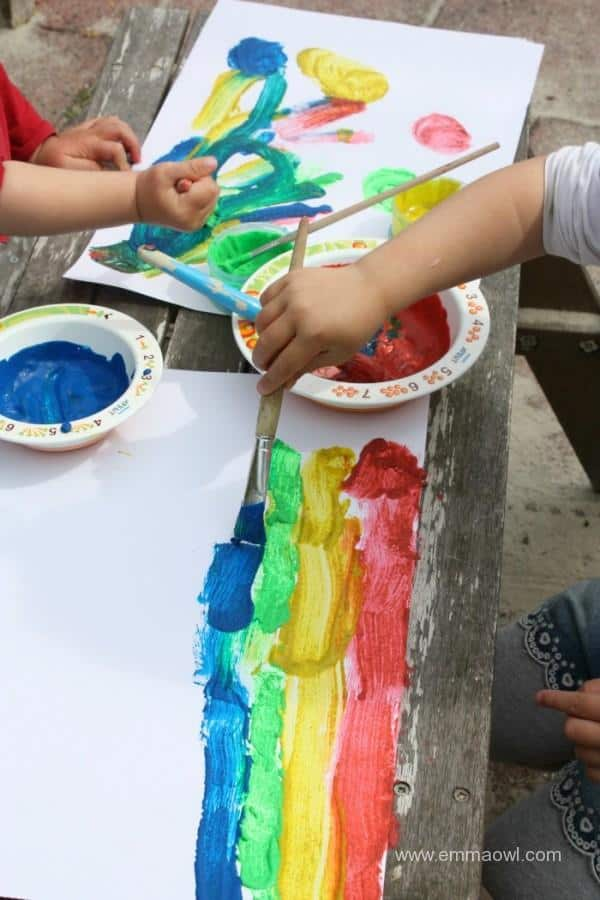 Sand Painting - a great new paint recipe