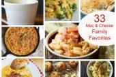 Top 33 Mac & Cheese Favorites