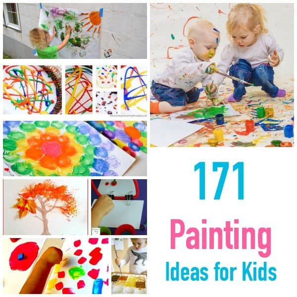 171 painting ideas techniques and projects for kids Fun painting ideas for toddlers