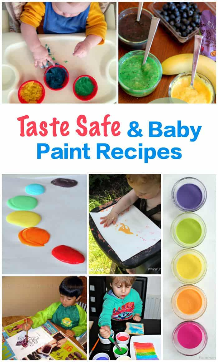 66 homemade paint recipes for children 39 s art and craft for Craft paint safe for babies