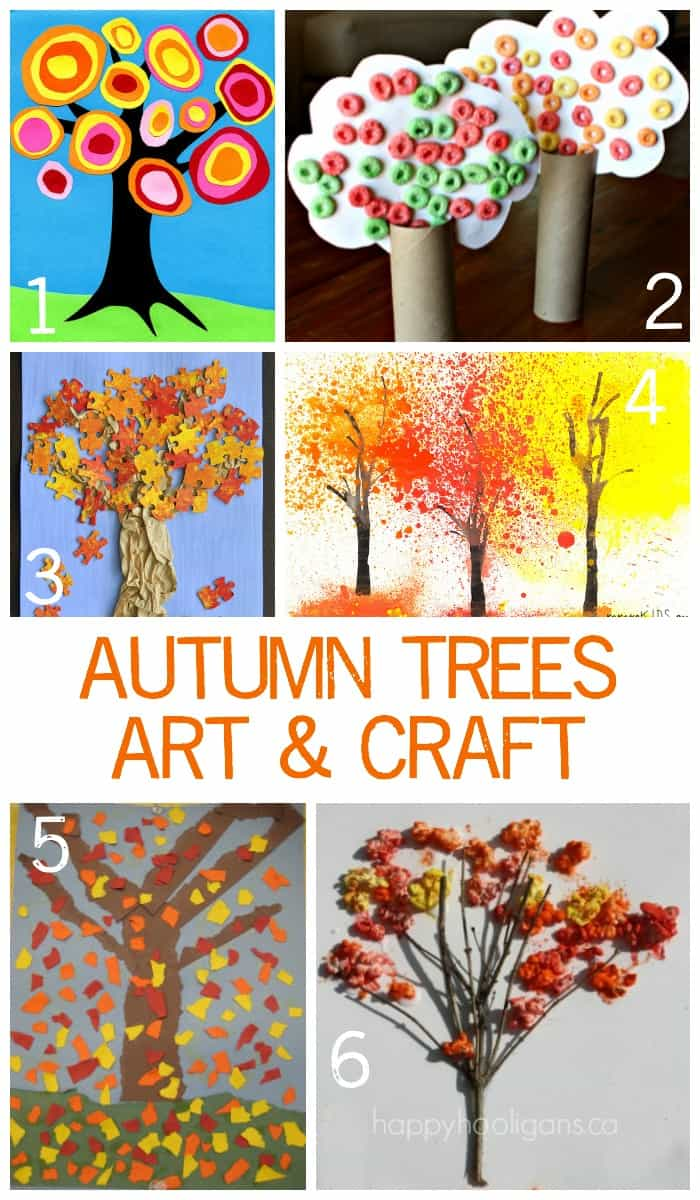 Easy Autumn Crafts For Preschoolers