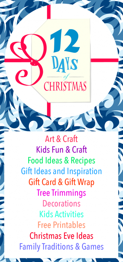 Join us as we celebrate 12 days of Christmas. If you are looking for season insiration - look no further - it is all here!-06