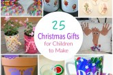 25 Christmas Gifts Made by Children