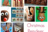 Christmas Reindeer Craft for Kids