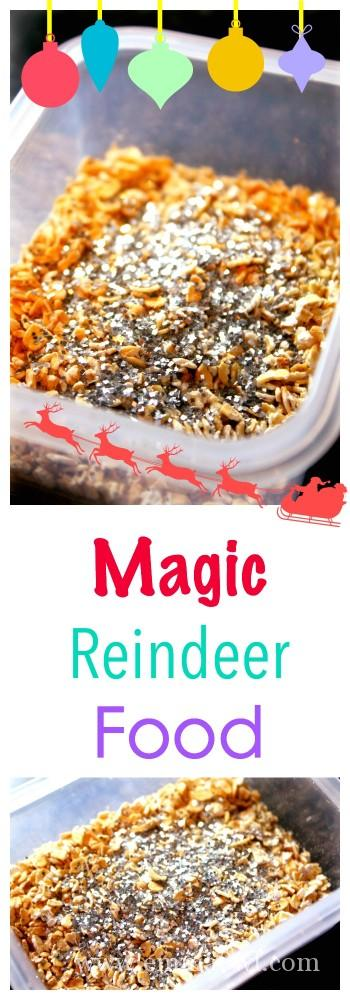 how to make reindeer food without glitter