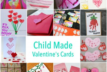 Child Made Valentine's Day Cards