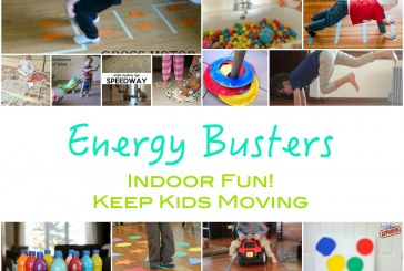 Energy Busters: Indoor Activities – Get Kids Moving