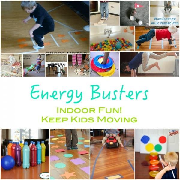 Energy busters indoor activities get kids moving emma owl for Indoor play activities