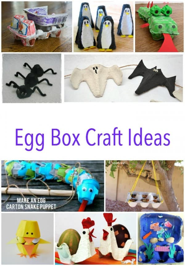 Egg Box Craft Ideas