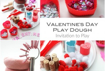 Play Dough Valentines Ideas