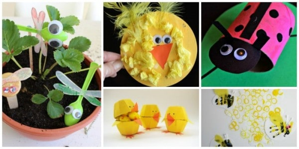 animal crafts made from recycled materials