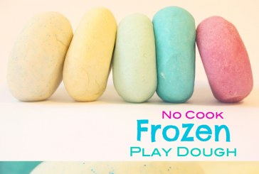 No Cook Frozen Play Dough