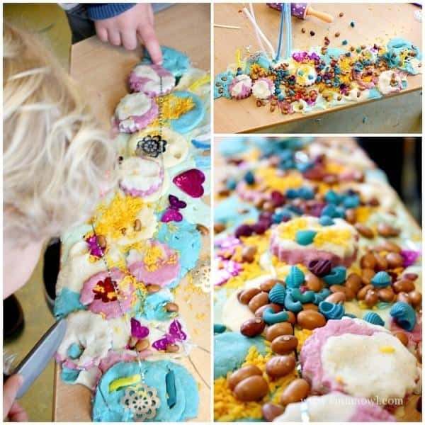 Play Dough Sensory Table