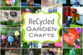 Recycled Garden Crafts for Spring