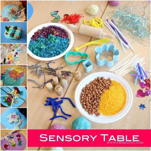 Sensory Table