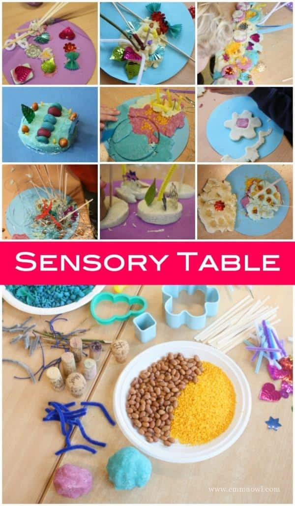 This is a great Sensory Table - winter themed - for children to explore, investigate and create!