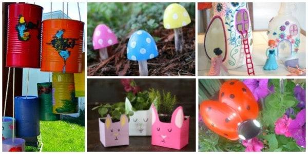 spring garden crafts
