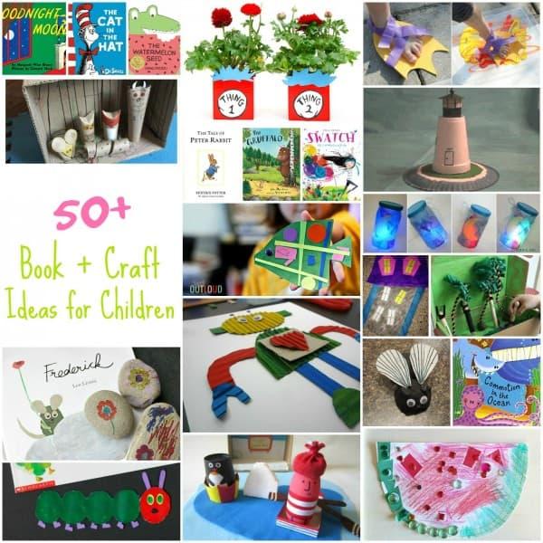 50+ Book + Craft Ideas for Children