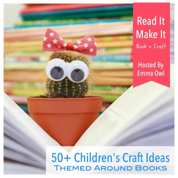 Book craft ideas for children emma owl for Art and craft books for kids