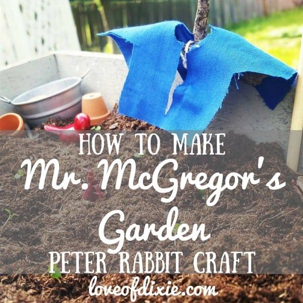 how-to-make-mr-mcgregors-garden-peter-rabbit-craft