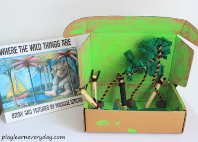 where the wild things are small world play - top image