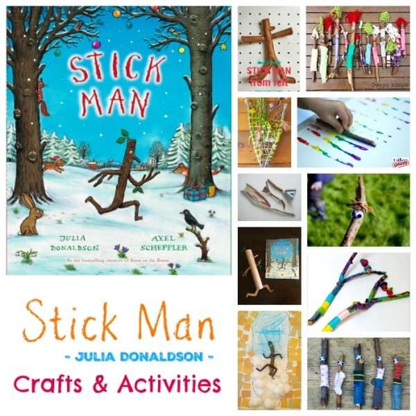 Stick Man - Crafts and Activities