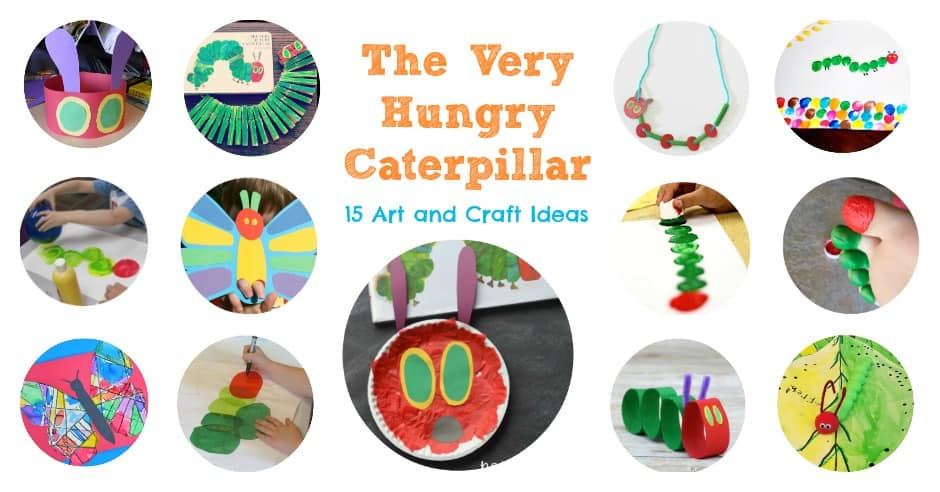 the very hungry caterpillar craft ideas the hungry caterpillar and craft ideas 7918