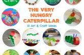 The Very Hungry Caterpillar Art and Craft Ideas
