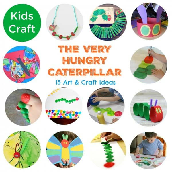 15 the very hungry caterpillar art and craft ideas