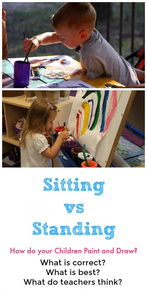 Sitting vs Standing Get real advice from teachers who know what is best!