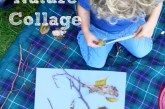 Natural Art for Children – Nature Collage