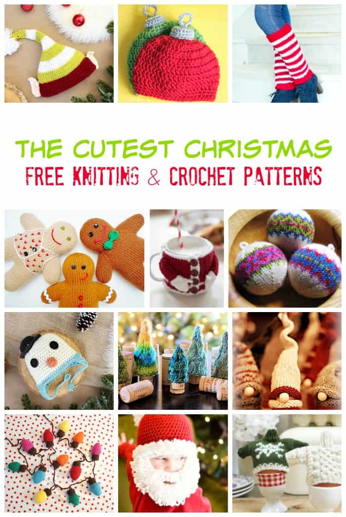 here-are-the-cutest-christmas-patterns-totally-free-to-knit-and ...