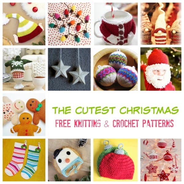 the-cutest-christmas-free-knitting-and-crochet-patterns
