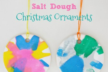 Salad Spinner Salt Dough Christmas Ornaments