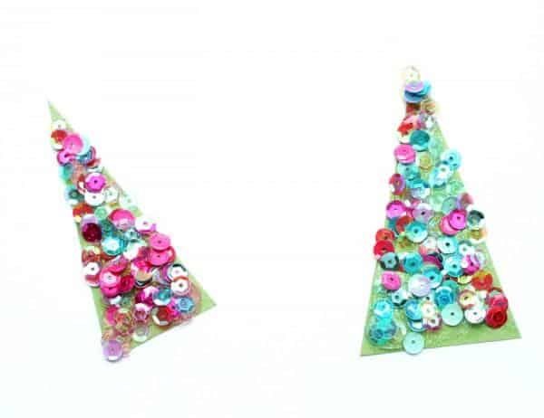 sequined-christmas-trees