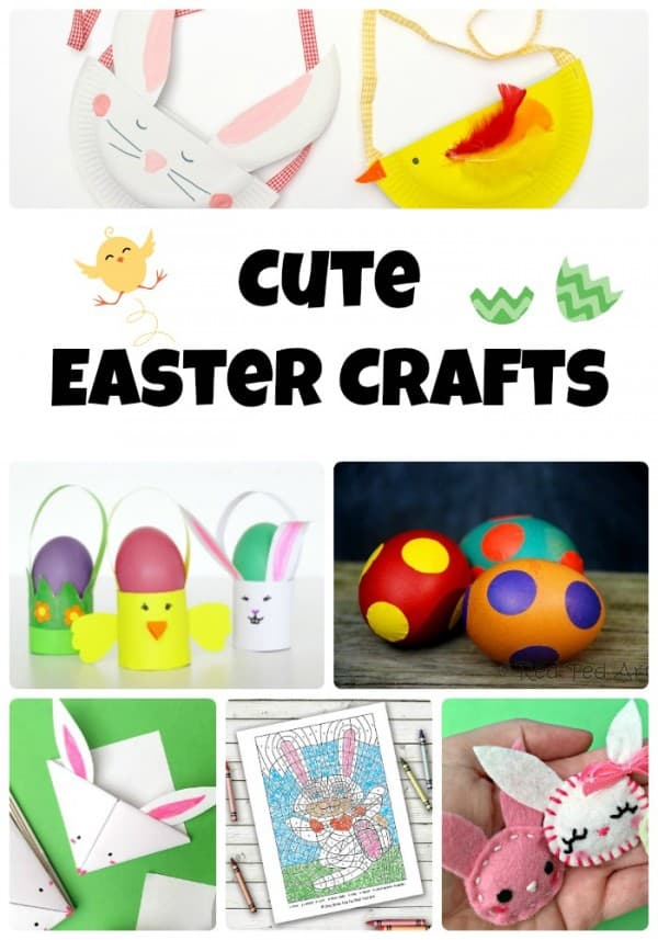 Cute Easter Crafts for Kids - Emma Owl