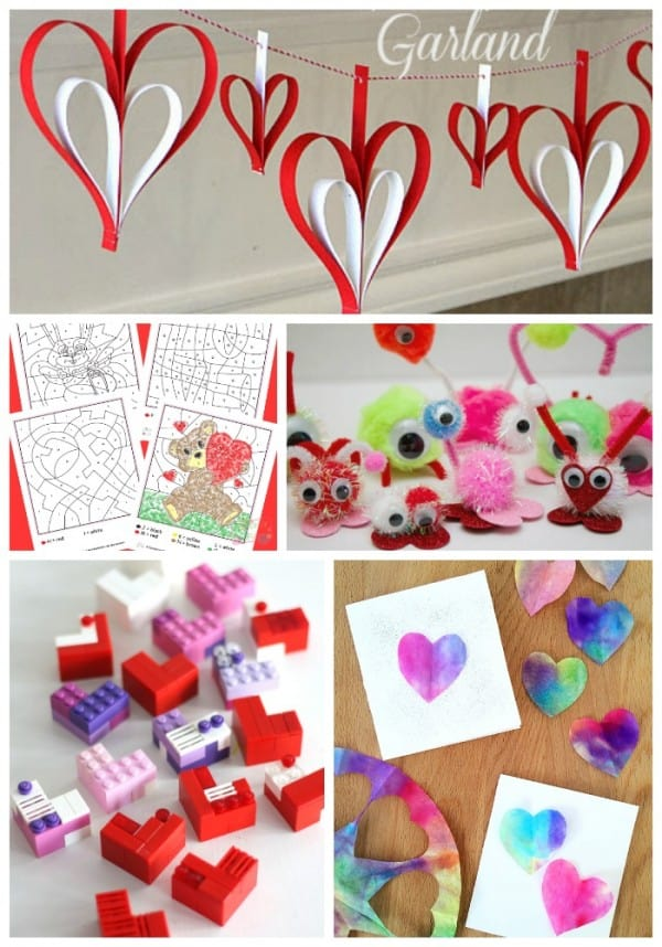 Easy and Quick Valentines Day Crafts for Kids