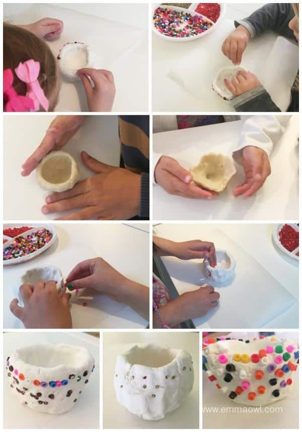 making pinch pots copy