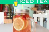 Homemade Iced Tea – Jasmine, Strawberry and Lemon