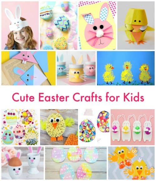 Cute Easter Crafts For Kids Emma Owl